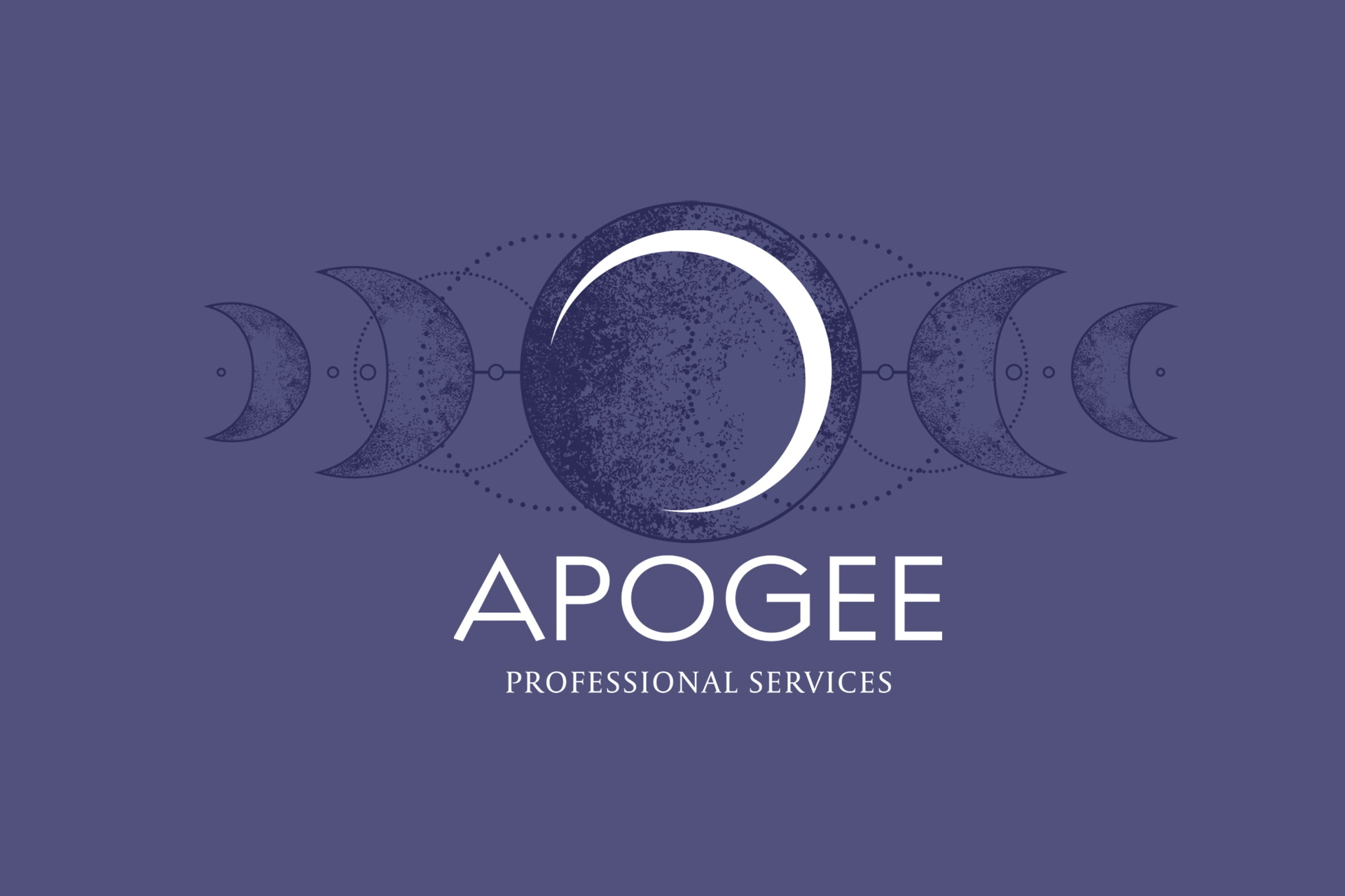 Apogee logo video banner